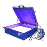 Станок с вакуумным насосом для нанесения фотоэмульсии на трафаретные печатные формы (UV блок; 110В / 220В; 240Вт; 24x26 дюймов)