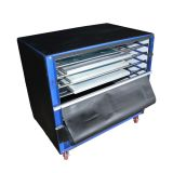 2400W 6 Layers  Floor Type Screen Printing Drying Cabinet Max Exposure size 24 x 35 in Screen Press Warming Machine
