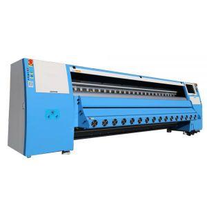 Цифровой струйный сольвентный принтер с головой KM1024i/13pl или KM1024i/30pl(3,2м)