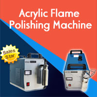 Acrylic Flame Polishing Machine